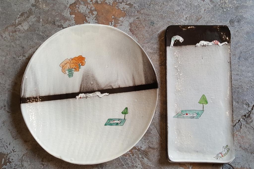 assiette et plat céramique